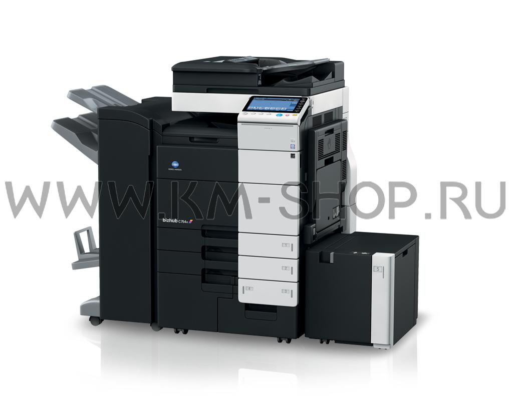 New Driver: Konica Minolta Bizhub C754e Printer PCL6